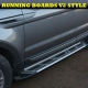 Chevrolet Captiva 2006+ ALUMINIUM STYLING RUNNING BOARDS SET