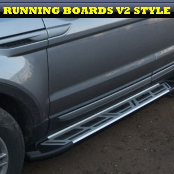 Land Rover Discovery 2 1998 2004 4x4 Rear Step Gas Strut: Dacia Duster 2010+ ALUMINIUM STYLING RUNNING BOARDS SET