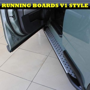 Holden Captiva 2006+ ALUMINIUM STYLING RUNNING BOARDS SET