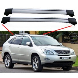 Lexus RX (XU30) 2003–2009 SUV Estate Break Aero Cross Bars Set Aluminium Spoiler