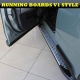 Nissan Qashqai, Nissan Dualis 2006–2012 Side Bars ALUMINIUM STYLING RUNNING BOARDS SET