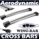 BMW 3 SERIES E90/91 Estate E91 Whispbar Roof Rack Cross Bars Set